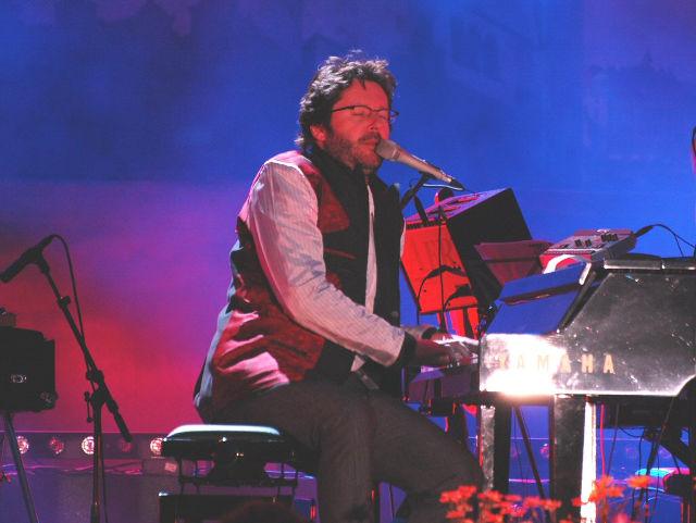 Grzegorz Turnau podczas koncertu