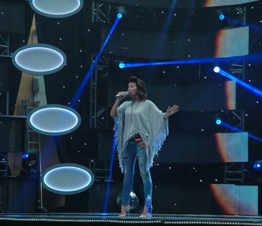 Edyta Górniak podczas koncertu